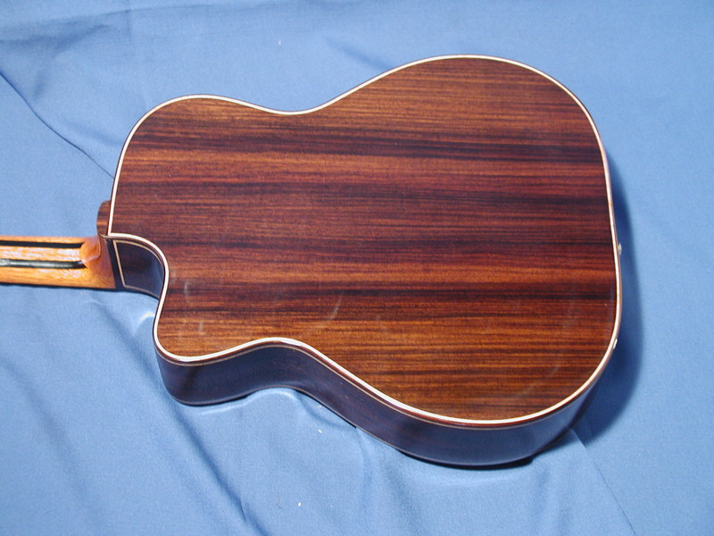 Solid Rosewood back