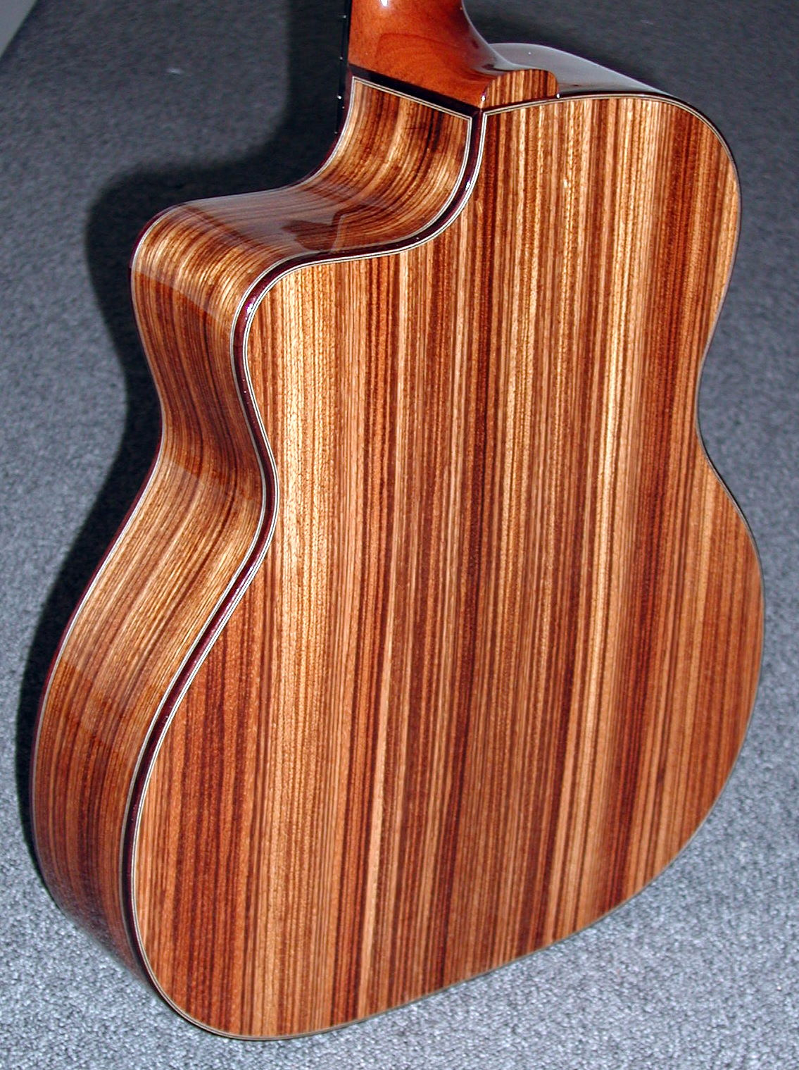 Zebra wood, very nice colour
